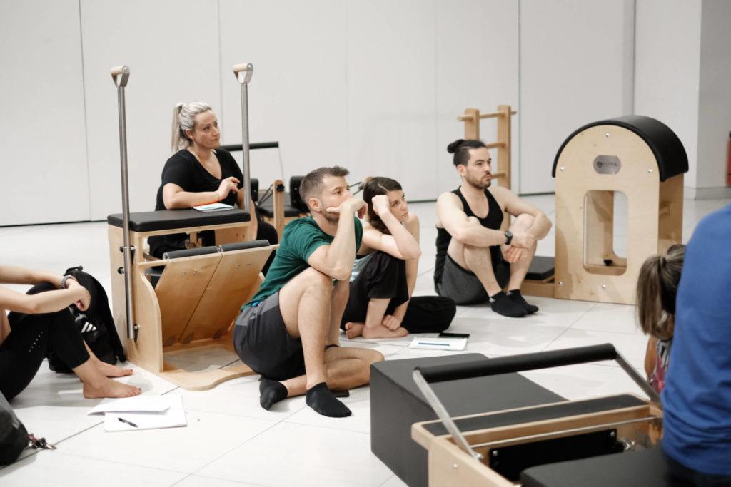 pilates teachers in training
